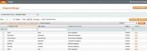 Link Exchange Categories