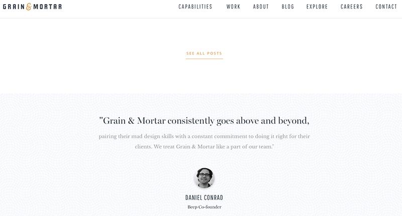 grain&mortar