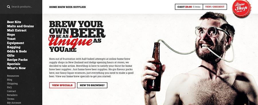 brew-shop-magento
