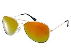 Aviator-Sunglasses-with-Orange-Mirror-Lens