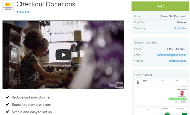 checkout-donations