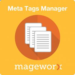 magento meta description manager