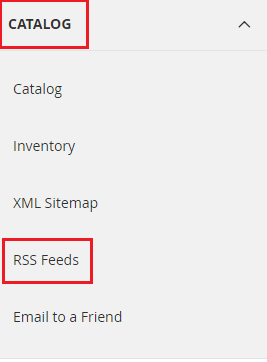 how to add rss feed in magento