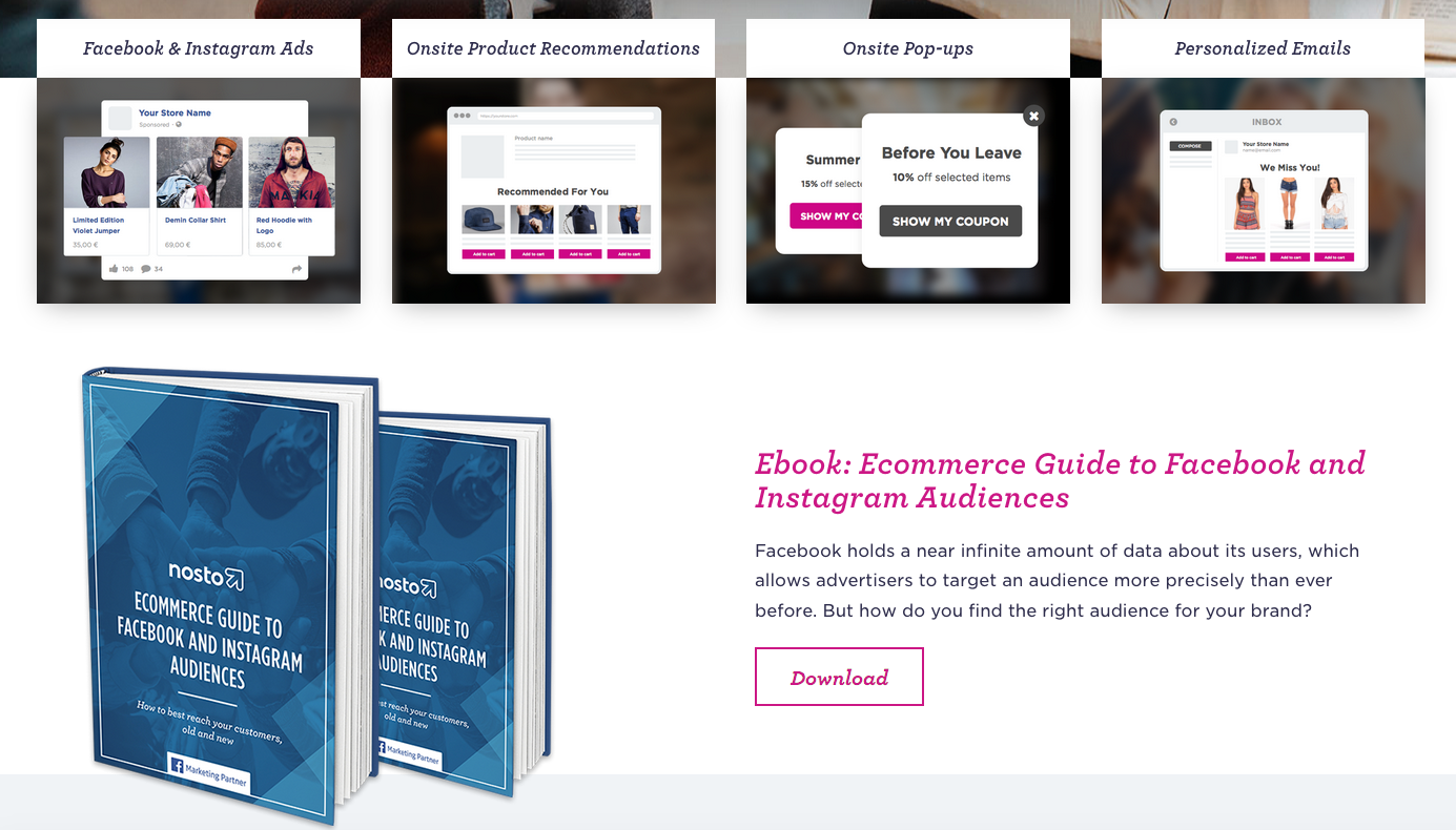 Optimizing ecommerce category pages
