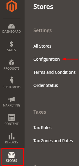 Stores- Config