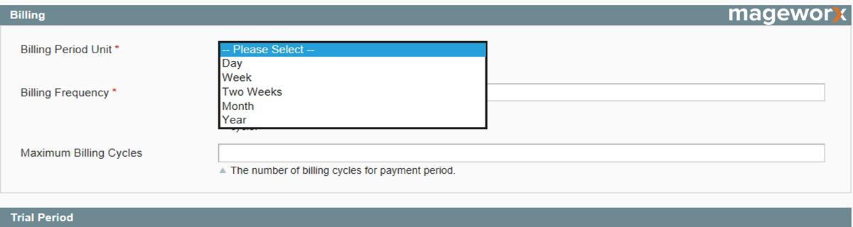 Magento recurring profiles setting - image 6