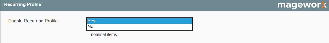 Magento recurring profiles setting - image 4