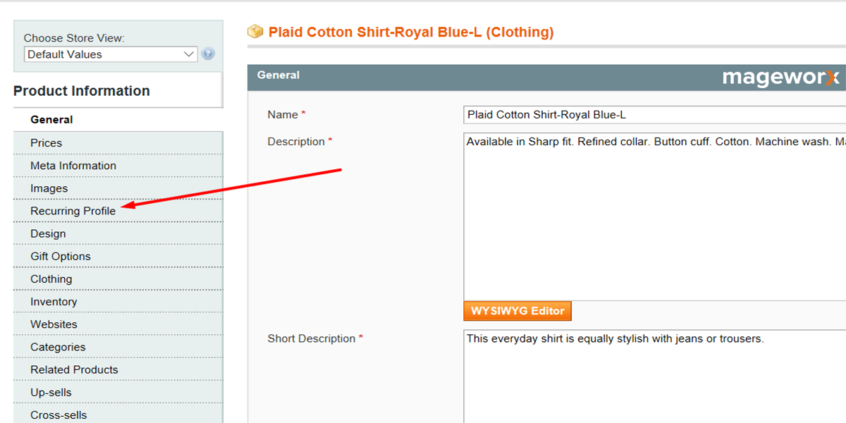 Magento recurring profiles setting - image 3