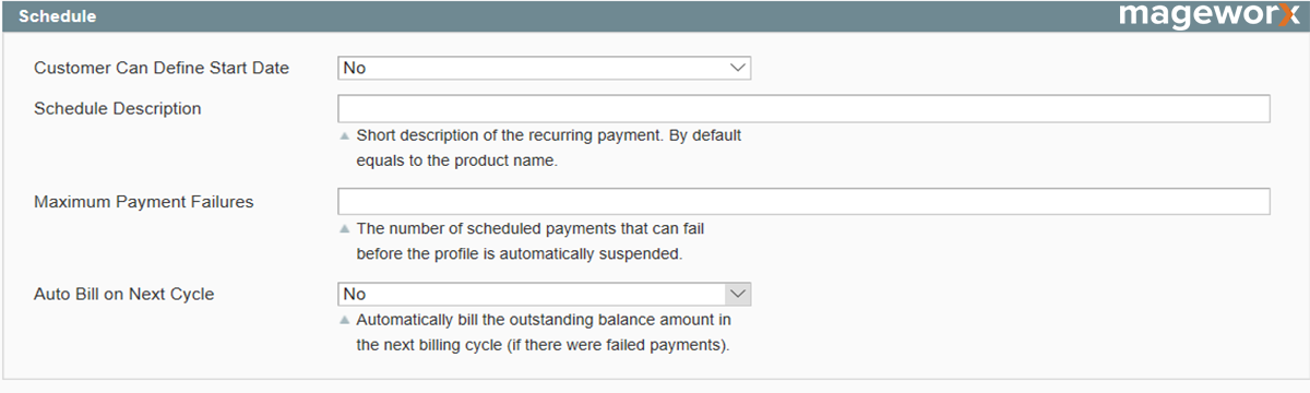 Magento recurring profiles setting - image 5