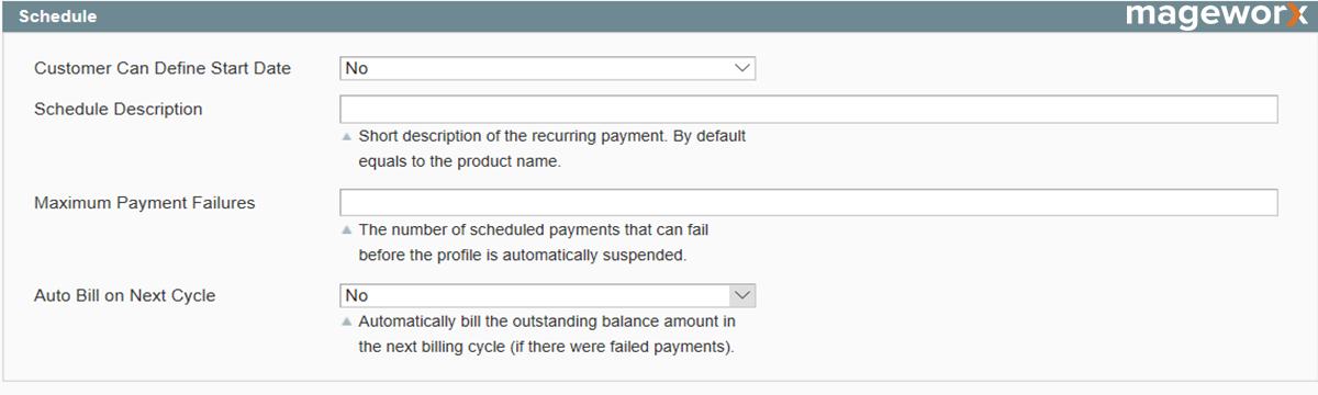 Magento recurring profiles setting - image 5
