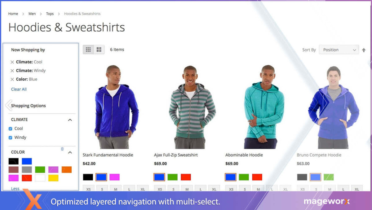 Optimized Layered Navigation in Magento 2