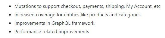 GraphQL in Magento 2.3.0