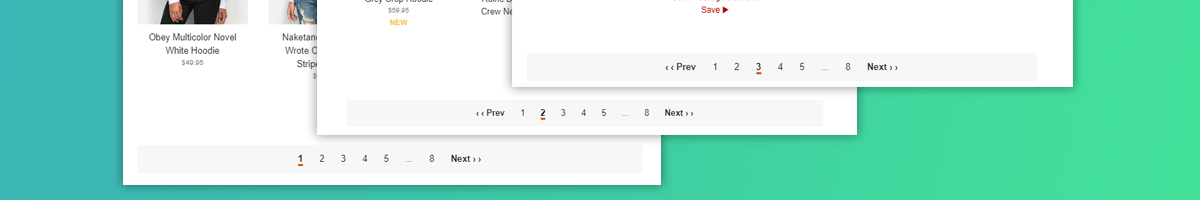 How Pagination Pages Look Like
