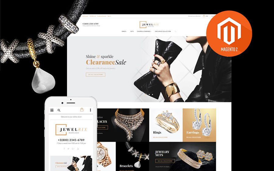 Jewelrix Magento Theme | MageWorx Blog