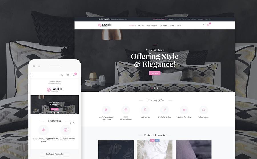 Lacellia - Linen Shop Magento 2 Theme | MageWorx Blog