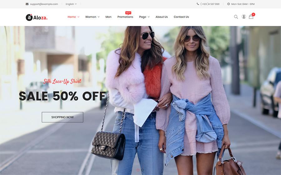 Aloza - Responsive Fashion 2 Magento Theme | MageWorx Blog