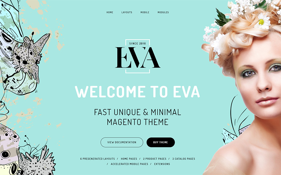 EVA - AMP Fashion Store Magento Theme | MageWorx Blog