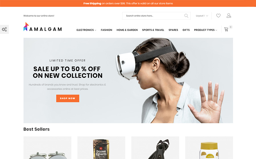 Amalgam - Wholesale Magento Theme | MageWorx Blog