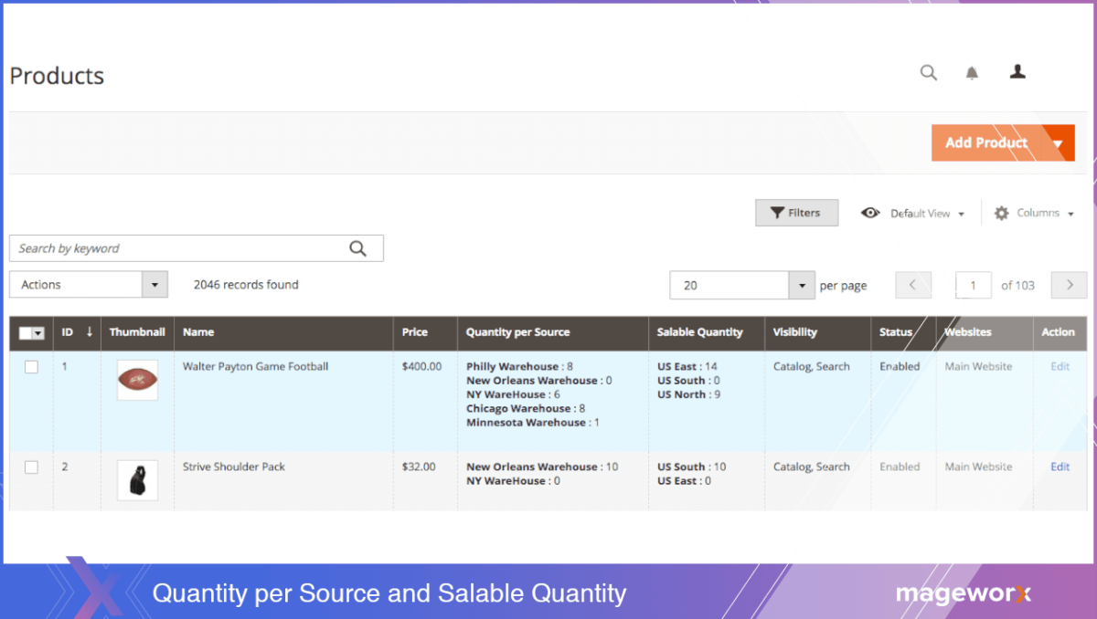 Quantity per Source and Salable Quantity | MageWorx Blog