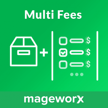 Multi Fees extension for Magento 2