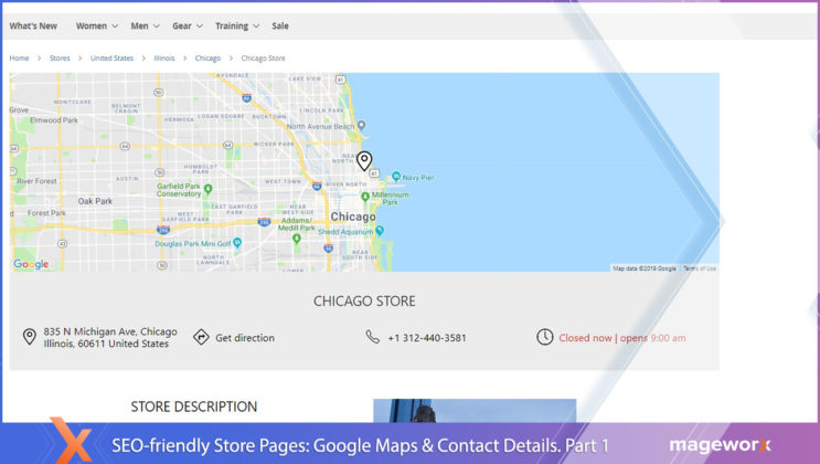 Store Locator & In-store Pickup for Magento 2