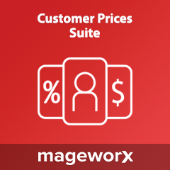 Customer Prices Suite extension for Magento 2