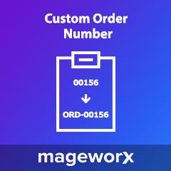 Magento 2 Customer Order Number