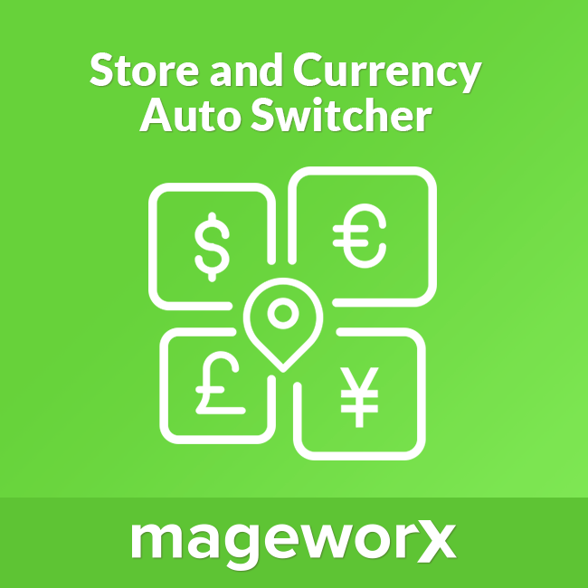 Magento 2 Store & Currency Auto Switcher