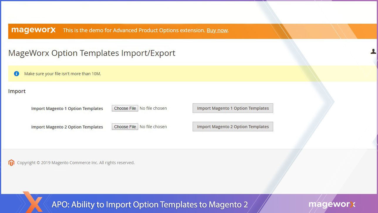 Advanced Product Options Magento 2