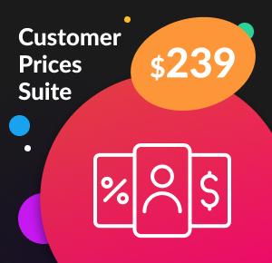 Magento 2 Customer Prices Suite