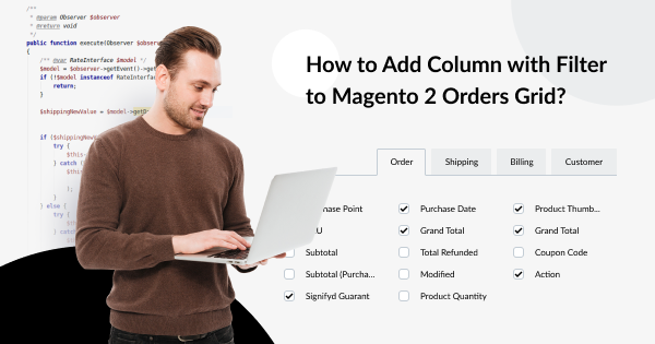 How to Add Column with Filter to Magento 2 Orders Grid? | MageWorx Magento Blog