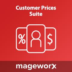 MageWorx Customer Prices Suite Extension
