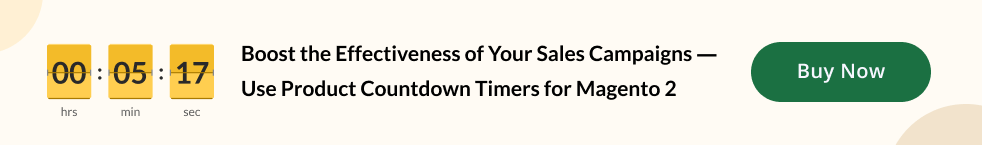 Product Countdown Timers extension for Magento 2   MageWorx Blog