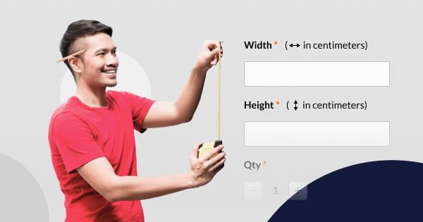 Product Options with Custom Dimensions in Magento 2 | Mageworx Blog