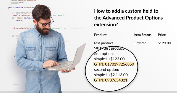 How to Add Custom Field to Advanced Product Options | Mageworx Blog