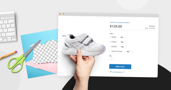 how to edit product photos - tips for Magento stores