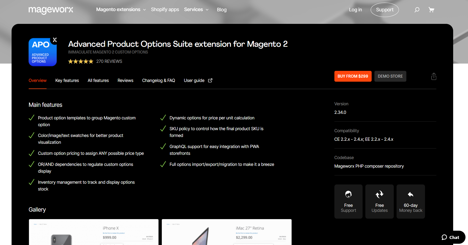 best magento extensions - Mageworx Advanced Product Options
