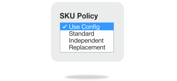 SKU Policy for Magento custom product options