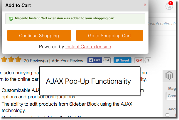 Add any types of products to cart with AJAX Cart Magento Extension