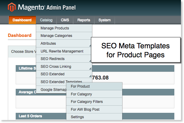 Magento Meta data SEO Templates for Product Pages