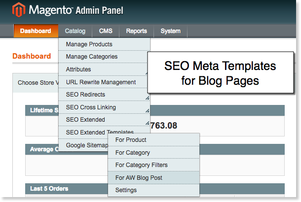 Meta tags manager - <strong>SEO templates for aheadworks blog post pages</strong>