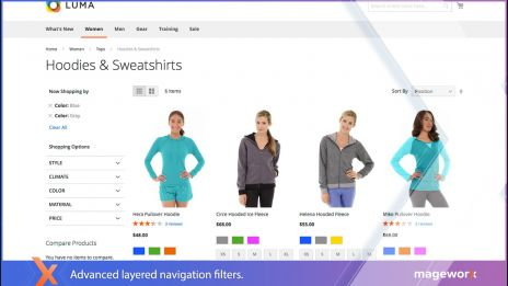 Layered Navigation in Magento 2,Layered Navigation in Magento 2,Set multiselect feature for every attribute,Layered Navigation settings for each product in Magento 2,