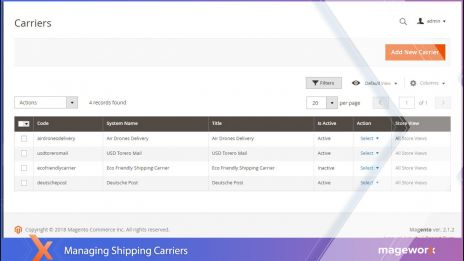 Shipping Suite for Magento 2 - Shipping Rates