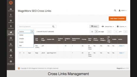 Cross Links Management,Internal and External Cross Links Configuration,SEO Cross Links Settings,Internal and External Cross Links Configuration,Cross Links Functionality on the Front-End,Internal and External Cross Links Configuration,SEO Cross Links Sett