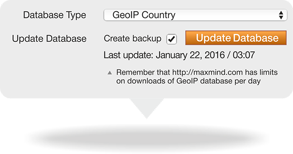 Enable GeoIP functionality in Magento shipping module