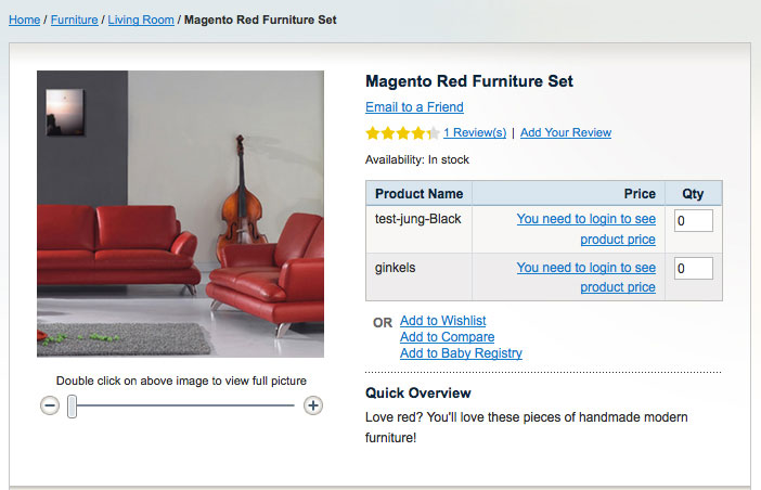 Hide prices for visitors with Magento group price extension