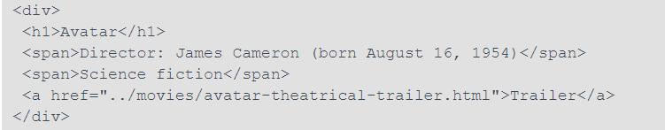 microformat markup language