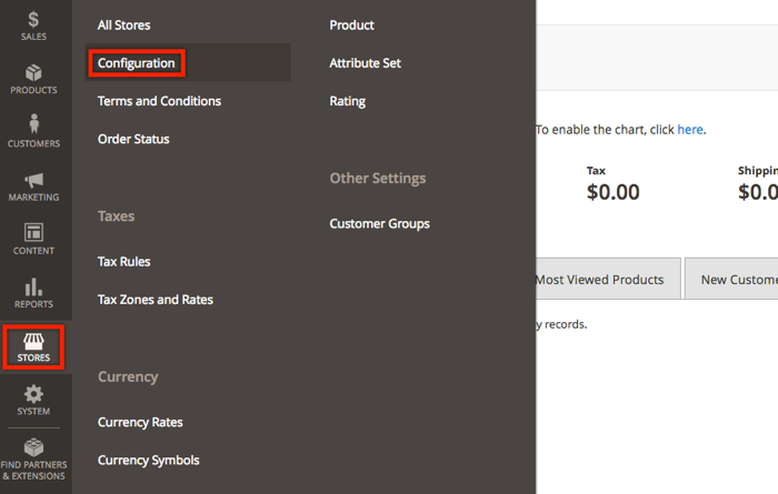 Magento payment metods configuration