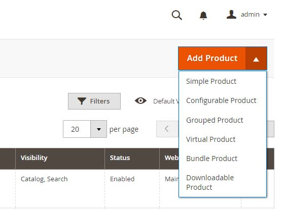 Product Types for Magento 2