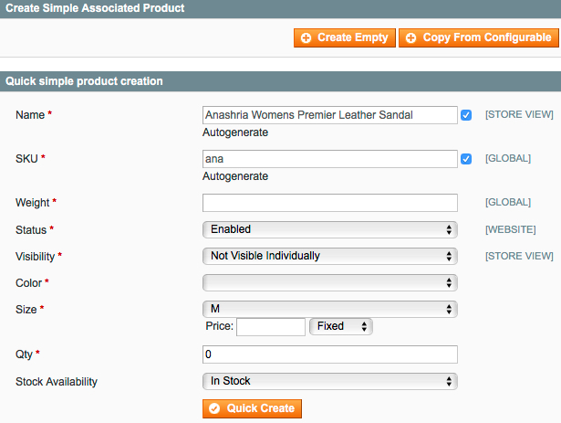 Magento product tab